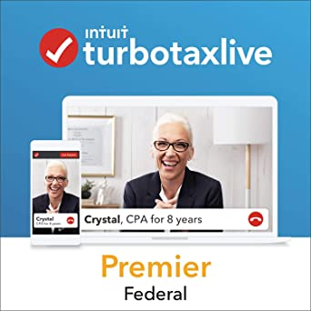 TurboTax Live Premier 2018, Do Your Federal Taxes Online with a Live CPA  Onscreen  Start for Free, Pay $169 99 When You File, and Get a $15 Amazon