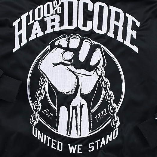100% Hardcore – Chaqueta de chándal United para Hombre Techno ...