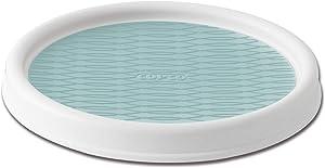 Copco 9 Inch Lazy Susan, 9-Inch, White/Aqua,5234750