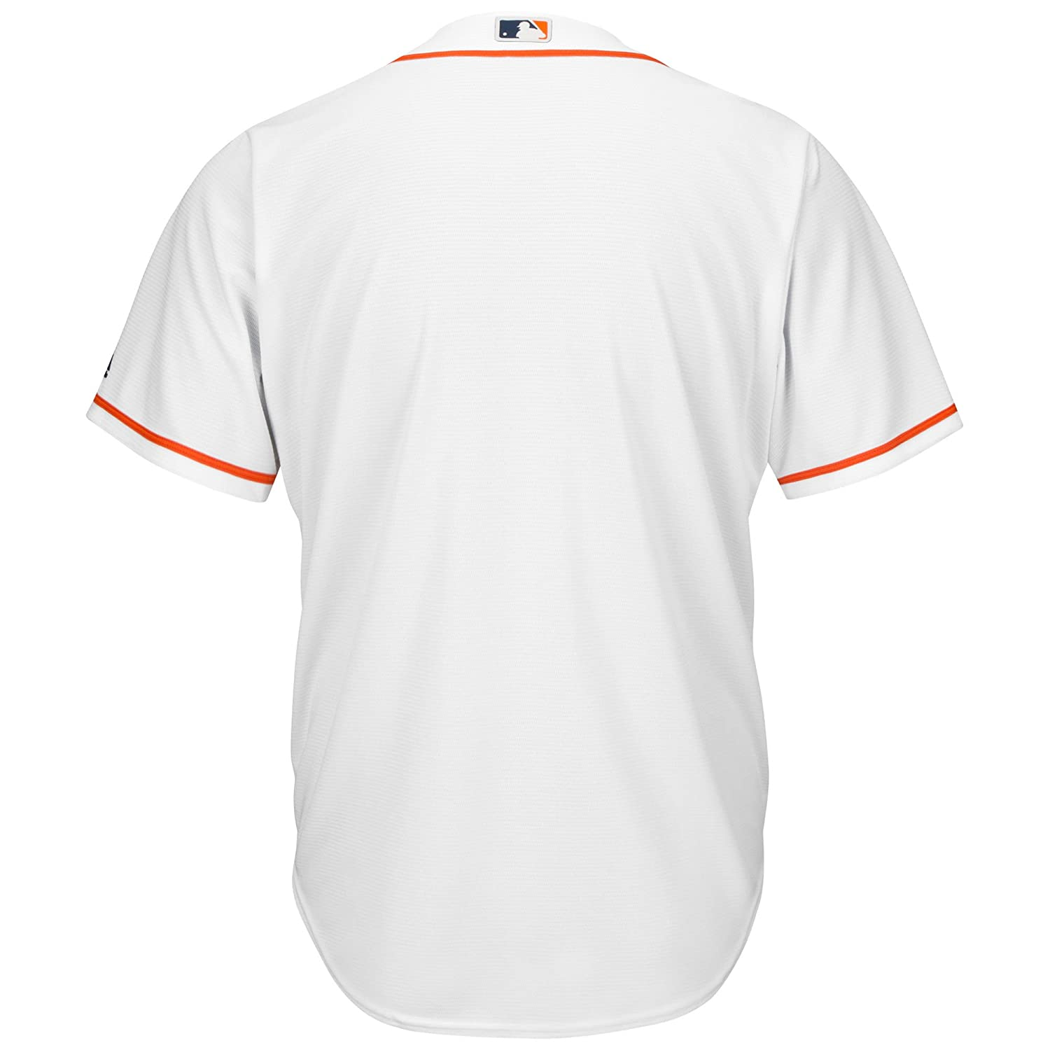 a46715431 ... Outerstuff Houston Astros Blank Word Mark White Youth Cool Base Home  Jersey