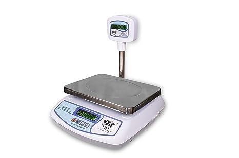 taj 30kg digital table top weighing scale for retail shops kirana