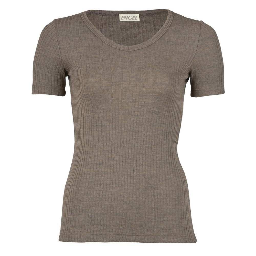 Herren IVN Bio 100/% Schurwolle Engel Natur kurzarm Unterhemd Shirt für Damen