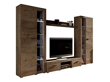 wohnwand rango xl modernes wohnzimmer set design anbauwand schrankwand mediawand vitrine