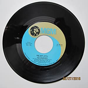 The Osmonds 45 RPM He Ain't Heavy...He's My Brother / One Bad Apple