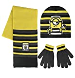 Made In Trade – 2200002552 – Despicable Me Minions – Hat and Gloves – One Size