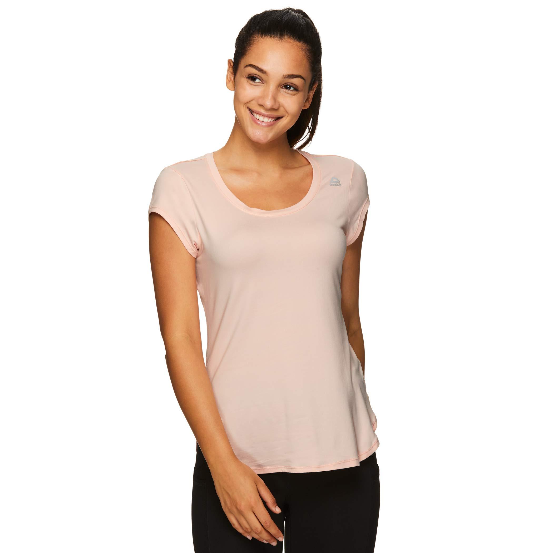 Reebok Women's Legend Performance Top Short Sleeve T-Shirt - Legend SS Impatiens Pink, Small by Reebok