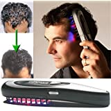 MQ Electric Laser Hair Growth Comb Hair Brush Grow Laser Hair Loss Therapy Comb Regrowth Device Machine Ozone Infrared Massager