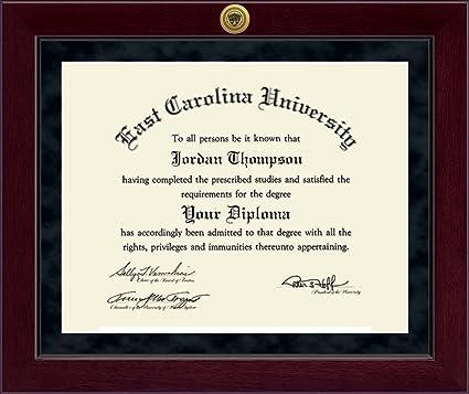 Amazon.com: East Carolina University Millennium Gold Engraved ...