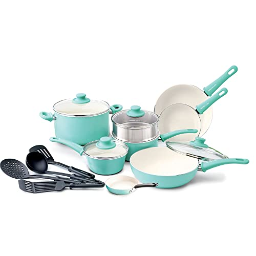 GreenLife Soft Grip 16pc Ceramic Non-Stick Cookware Set Review