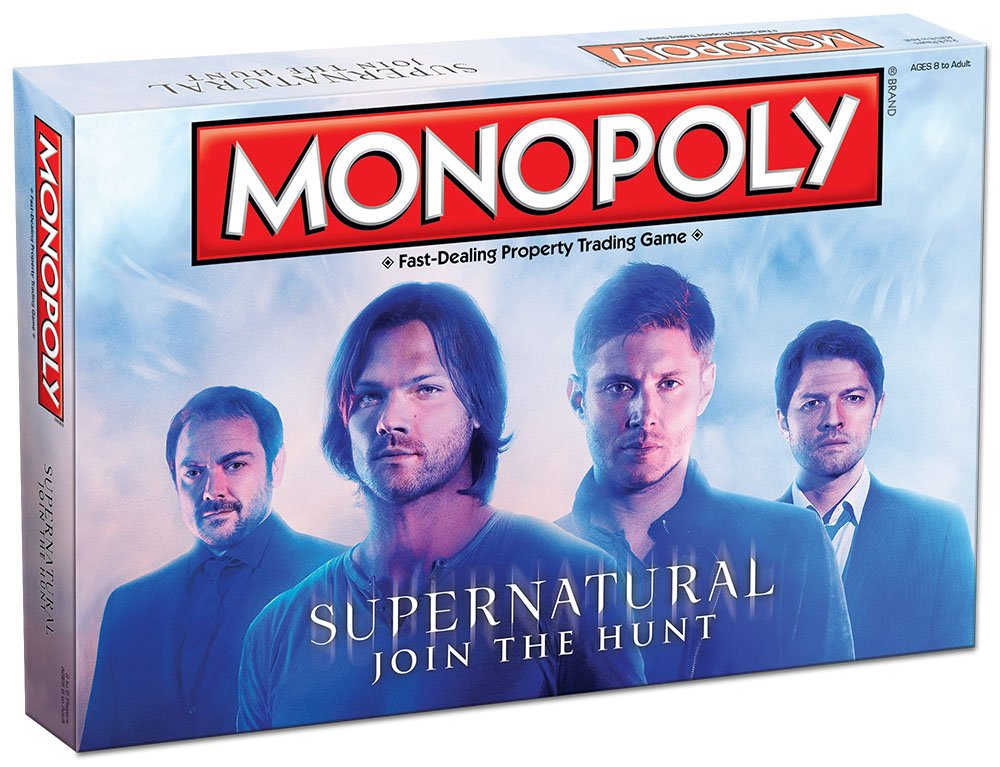 Monopoly MN010-361 Accessory Consumer Accessories Supernatural Collectors Edition Board Game USAOPOLY Inc
