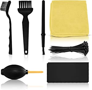 Enimatic Computer Cleaning Kit   PC Cleaning Kit for Computers, Desktops, PCs, Laptops, and More   Clean, Organize, and Make Your Electronics New (7-in-1 Complete Kit)