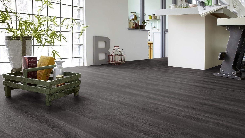 16,99 EUR//1 m/² L/áminas Tarkett Star Floor VINTAGE contenido: 2,08 cm color: madera de roble ahumado negro 5925000