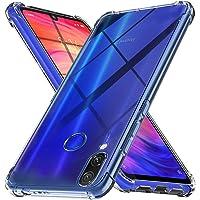 Ferilinso Coque pour Xiaomi Redmi Note 7/ Note 7S/ Note 7 Pro, Ultra Mince résistant aux Rayures Crystal Clear Silicone TPU Rubber Soft Skin Housse de Protection en Silicone (Transparent)