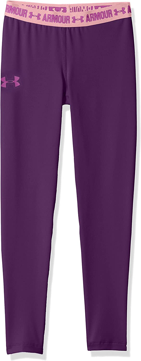 Under Armour Girls Heat Gear Armour Leggings