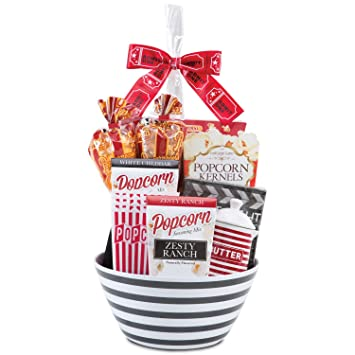 Image Unavailable. Image not available for. Color: Gourmet Popcorn Gift Basket