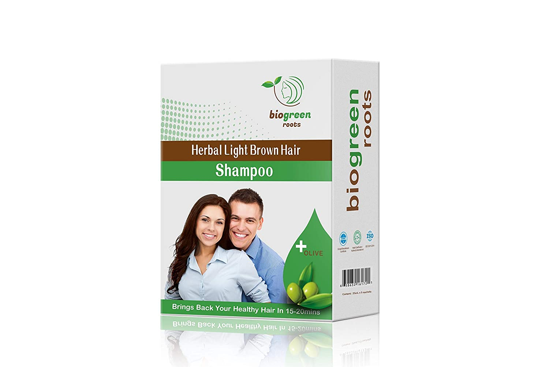 Herbal Light Brown Hair Shampoo Light Brown Beauty Amazon Com