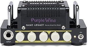 Hotone Nano Legacy Purple Wind 5-Watt Compact Guitar Amp Head with 3-Band EQ