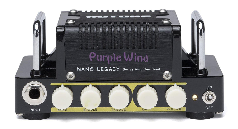 Hotone Nano Legacy Purple Wind 5-Watt Compact Guitar Amp Head with 3-Band EQ by Hotone