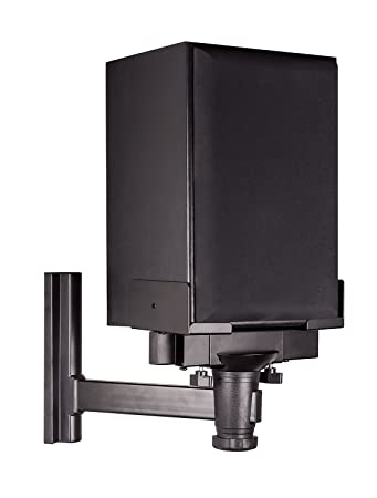 Mount-It! Speaker Wall Mount, Universal Side Clamping Bookshelf Speaker  Mounting Bracket,