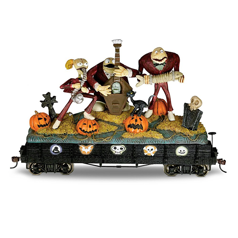 Amazon.com: The Nightmare Before Christmas Train Car: Ghoulish ...