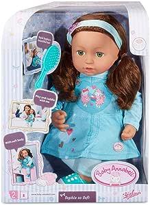 Amazon.com: Baby Annabell Sophia So Soft with Green Eyes ...
