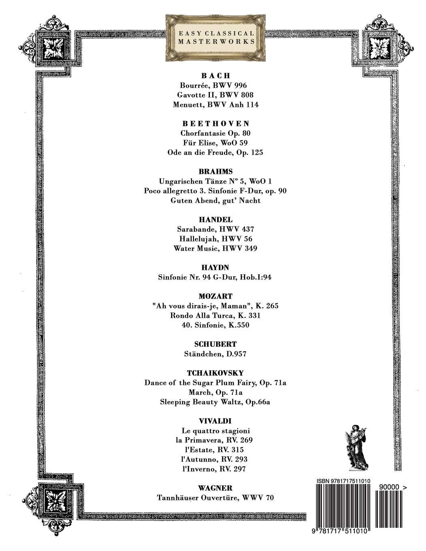 Obras Maestras Clásicas para Guitarra Loog: Piezas fáciles de Bach ...