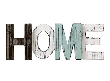 Amazon TIMEYARD Rustic Wood Home Sign Decor Decorative Word