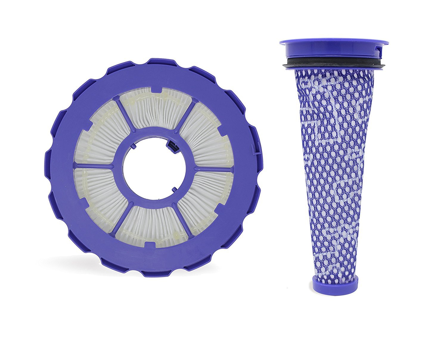 Leadaybetter Compatible Post & Pre Filter Set For Dyson DC50 Animal and Multi Floor vacuums, Part Number 965080-01 & 965081-01
