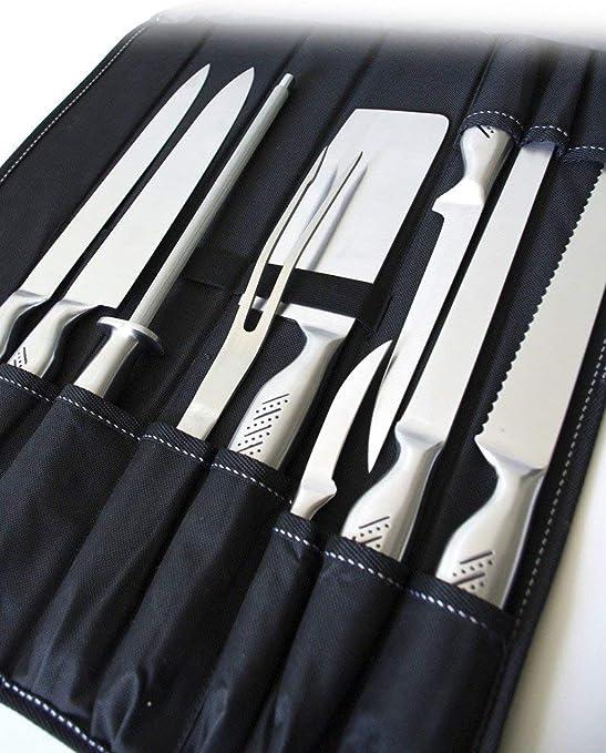 Pradel Excellence I7100 Sacoche De Couteaux Cuisinier 9 Pieces