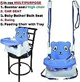 Trugoods Baby Booster Seat/Swing Multipurpose Kids Feeding High Chair