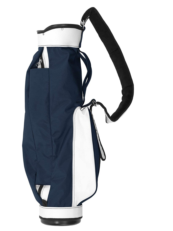 ジョーンズゴルフBGS元ジョーンズゴルフバッグ  ネイビーとホワイト B07CRLK5R1