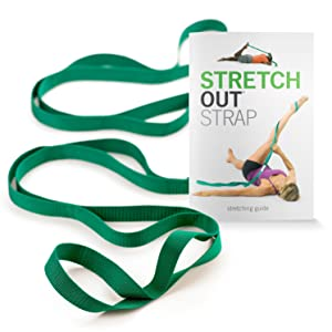 OPTP The Original Stretch Out Strap with Exercise Book Top Choice of Physical Therapists & Athletic Trainers