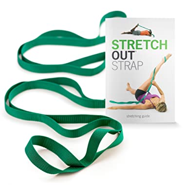 The Original Stretch Out Strap with Exercise Book by OPTP – Top Choice of Physical Therapists & Athletic Trainers