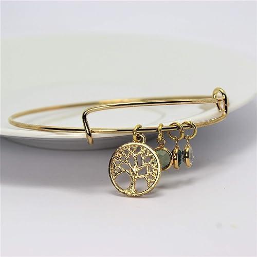 37f572b20ae Bracelet ARBRE DE VIE personnalisé