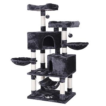 Amazon.com: BEWISHOME Condominio de árbol de gato de varios ...