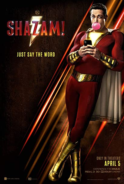 Image result for shazam! poster