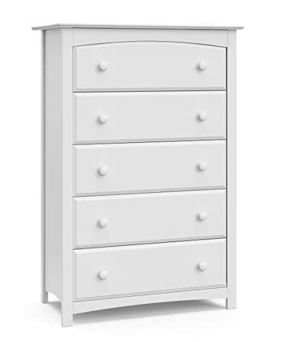 Storkcraft Kenton 5 Drawer Universal Dresser