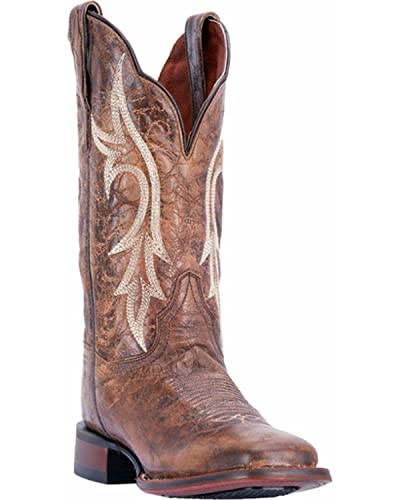 Dan Post Women's Reign Chestnut Cowgirl Certified Western Boot Square Toe - Dp4609