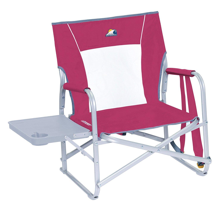 GCI Waterside Slim-Fold Beach Chair, Beach Berry [並行輸入品] B01IRFVMSS