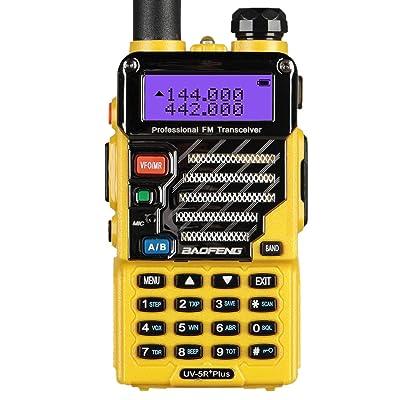 BaoFeng UV-5R Plus Qualette Two way Radio (Imperial Yellow) [5Bkhe2012662]