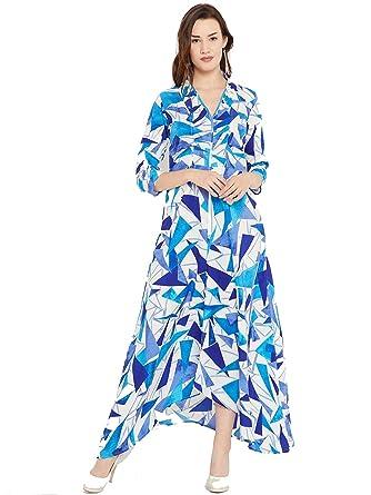Cottinfab Women's Maxi Dress  DSS9259$P_White  Dresses