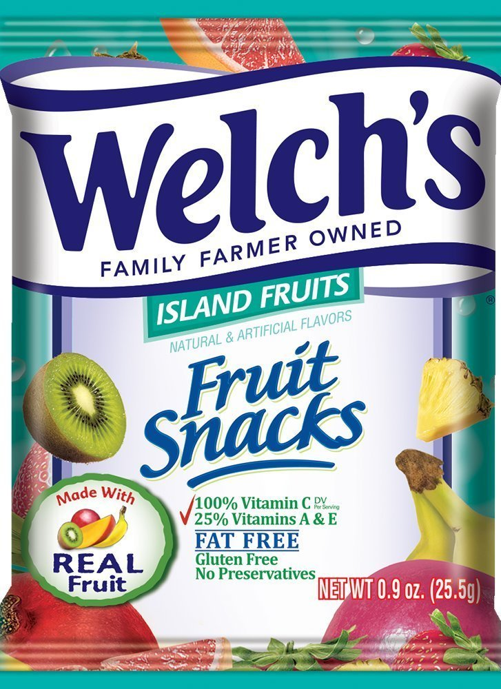 Welch's Fruit Snacks (Island Fruits (44 Count)) by Welch's (Image #1)