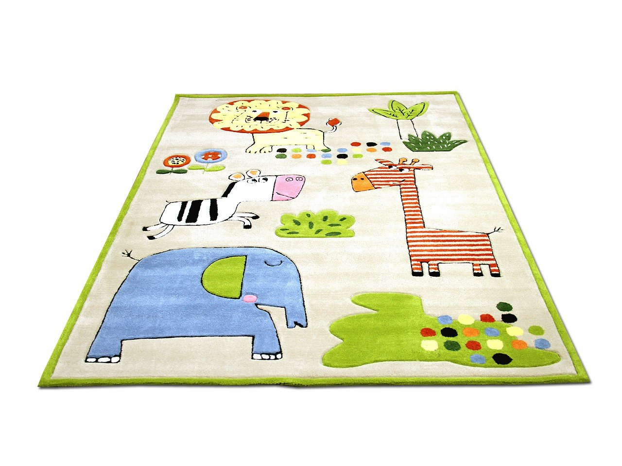 Lifestyle Kinderteppich Happy Zoo Bunt       Sofort Lieferbar     e4f61c