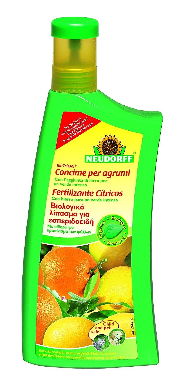 Neudorff Biotrissol–Fertilizzante agrumi, 1l, 10,6x 7x 27,2cm, colore: giallo 80334