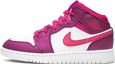 1 Mid (Gs) (True Berry/Rush Pink-White