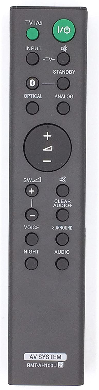 Control Remoto rmt-ah100u compatible para Sony ht-ct180