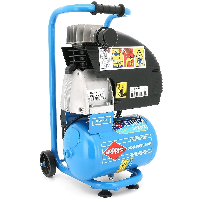 Impresión Aire - Compresor 2 PS/10 L/10 BAR tipo HL 260/10: Amazon.es: Bricolaje y herramientas