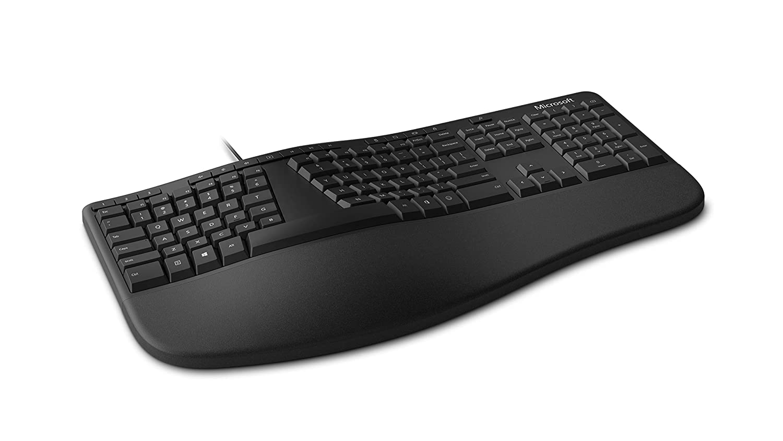 Microsoft Ergonomic Keyboard for Business (Wired) - Premium Pick