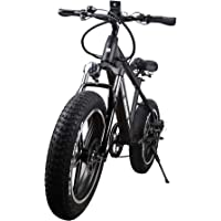 NAKTO Fat Tire Electric Bicycle Super Stable 500W/350W/300W Brushless Motor 3 Working Mode 48V Removable High Capacity Waterproof Lithium Battery