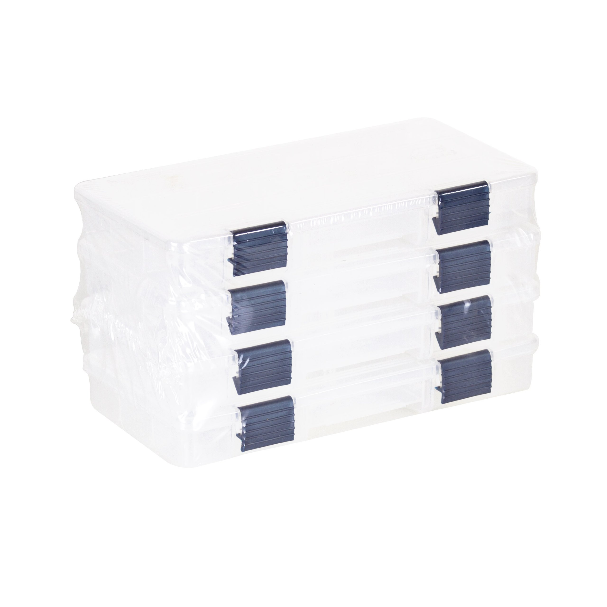 Plano Tackle Boxes,4 pack of  3500 Prolatch Stowaway Tackle Utility Boxes,  Fishing Tackle Storage by Plano
